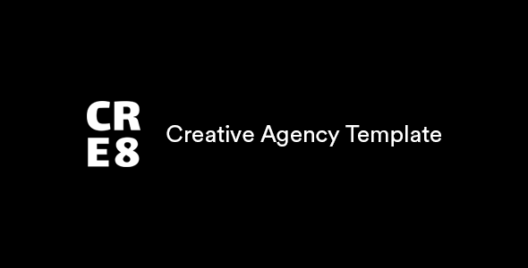 CRE8 Creative Agency HTML Template - 1