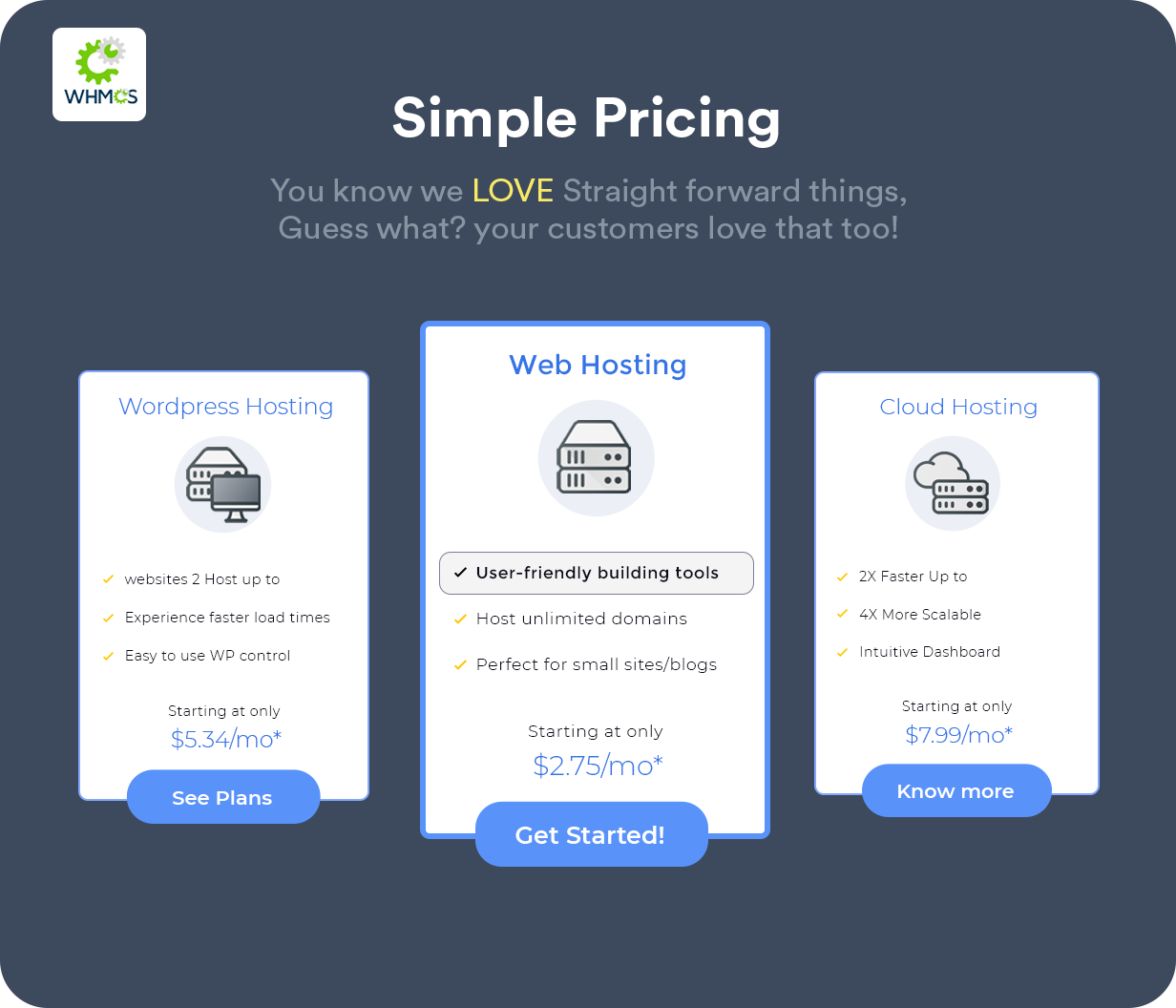 Hustbee - Hosting HTML & WHMCS Template - 3