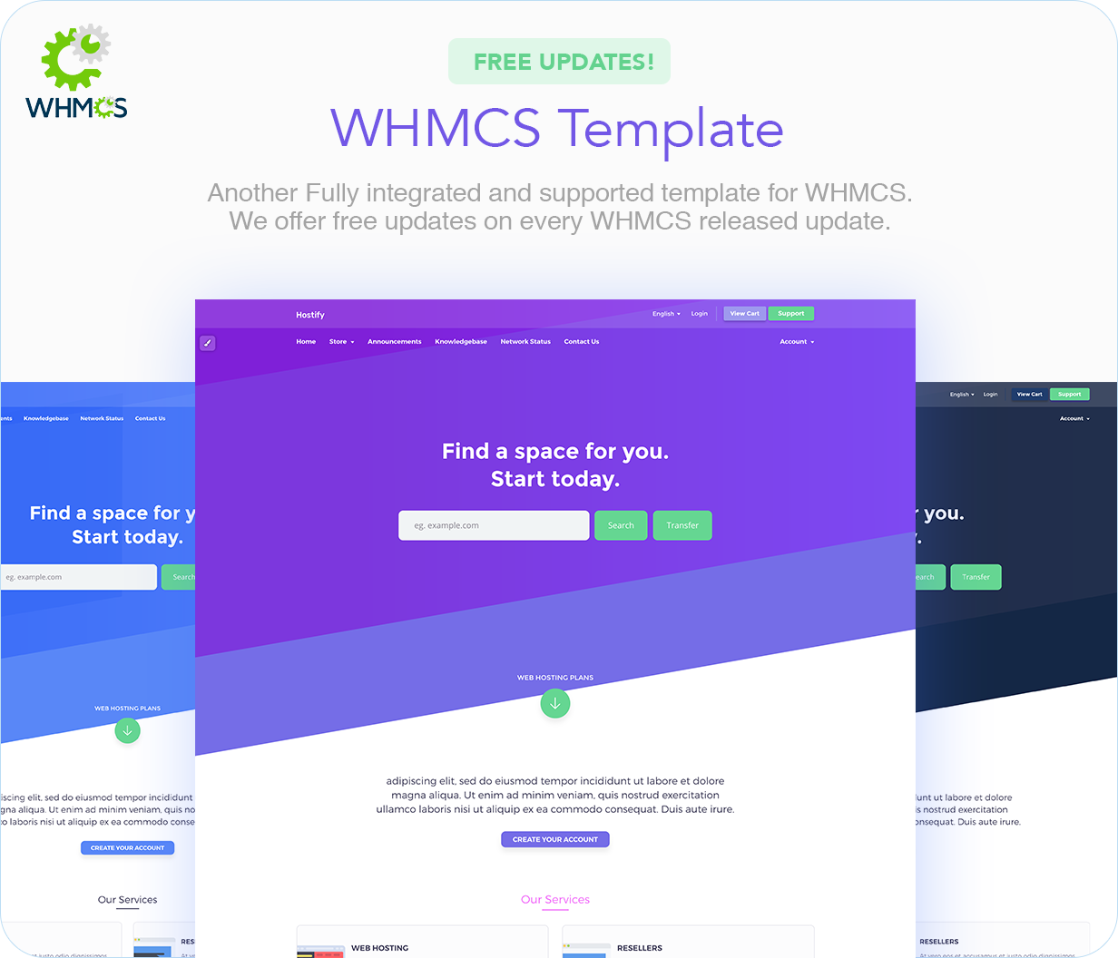 Hostify — Hosting HTML & WHMCS Template | Prosyscom Tech 20