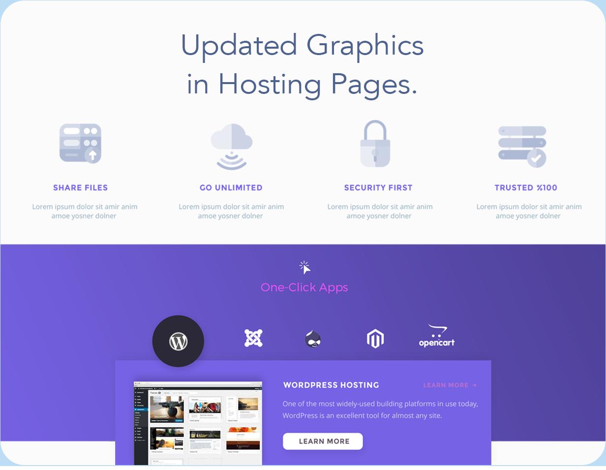 Hostify — Hosting HTML & WHMCS Template | Prosyscom Tech 11