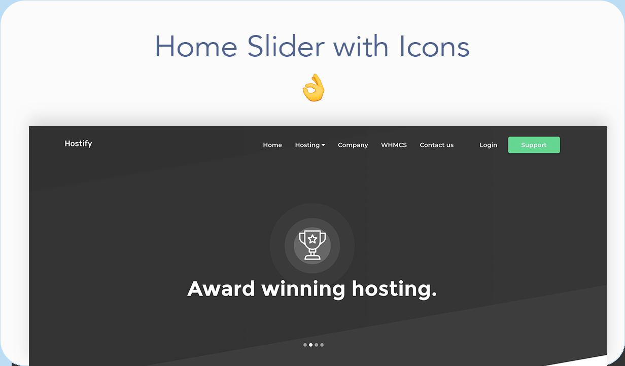 Hostify — Hosting HTML & WHMCS Template | Prosyscom Tech 10